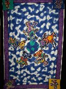 World Dead Bears tapestry