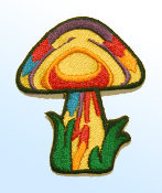 Yellow Mushroom Patch