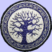 "4"" Celtic Tree Patch"