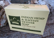Indian Hemp & Haitian Vetiver Soap