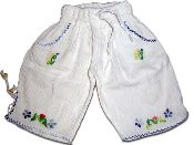 Childrens Embroidered Pants