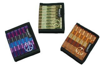 Brocaded Bi-Fold Wallets