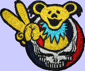 "4.5"" Peace Bear Patch"