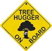 Tree Hugger On Board