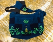 Hemp and Patches Sachel Bag