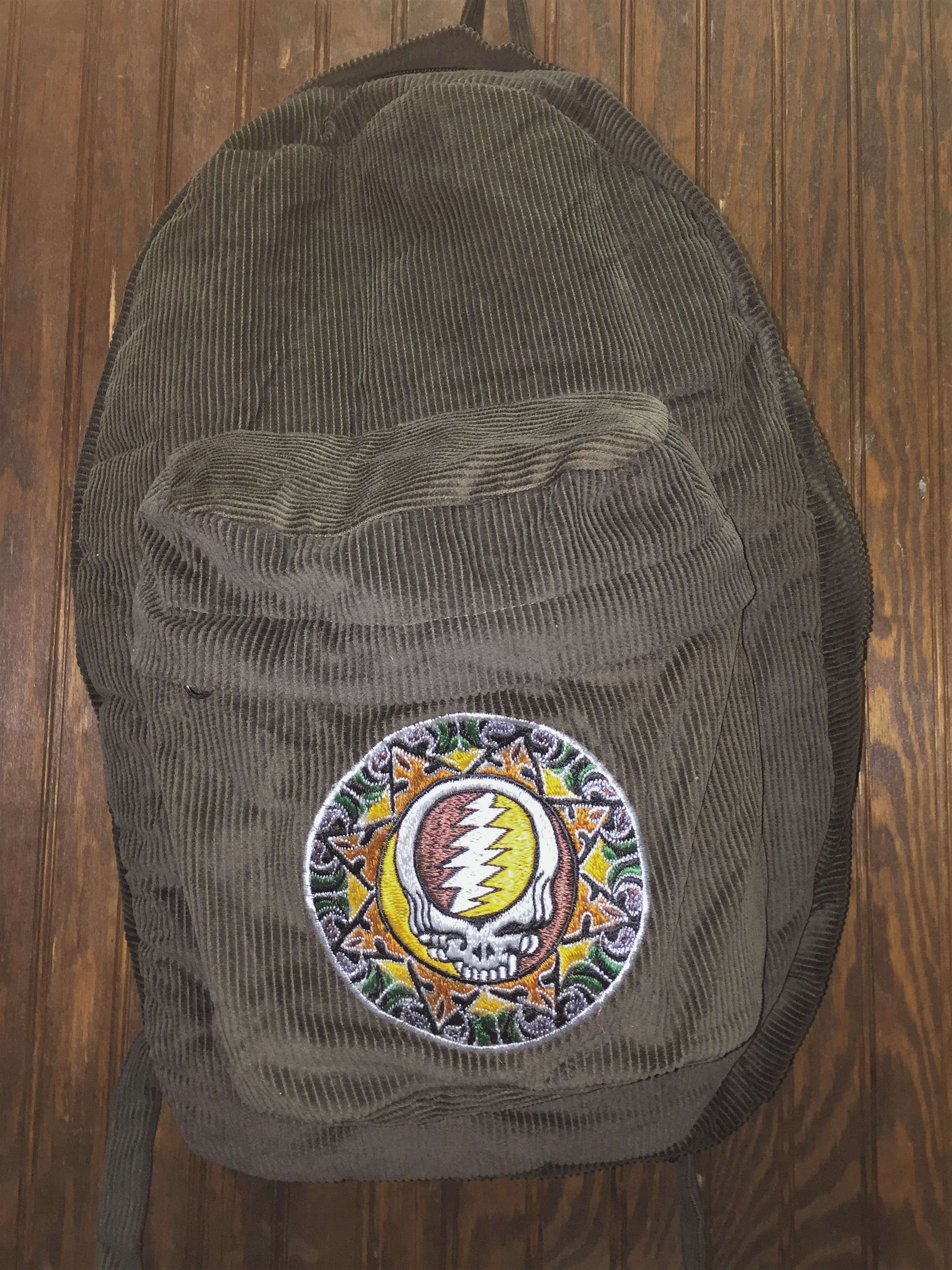 2eda02872ff Corduroy Syf Grateful Dead Backpack. Gallery. Lyst Urban Outers The Grateful  Dead Corduroy Snapback Hat In